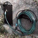 "1/2 "" jardin d'extérieur robinet tuyau eau Union Bib robinet laiton poli + tuyau de jardin prise de la marque GOSHE image 3 produit"
