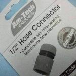 """1/2 """"pour tuyau d'arrosage avec embout Adaptateur Raccord 1/2""""), sans arrêt Am-Tech U2450 de raccorder les fils de la marque Amtech image 4 produit"""