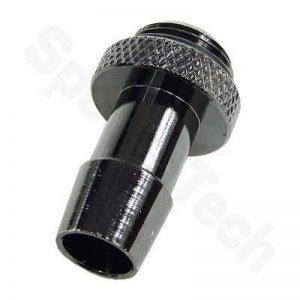 "1/4"" Thread Barb Fitting for 3/8"" ID (10mm) Tubing : Black Nickel de la marque Specialtech image 0 produit"