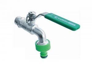 1/5,1cm Jardin Bavoir l'eau du robinet Levier type de vanne Poignée verte Hazelock Compatybile de la marque Calido image 0 produit
