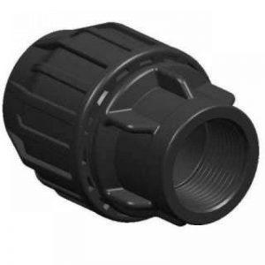 '1PP connecteur de serrage Fittings Adaptateur 25mm sur 1/2filetage femelle Raccord de tuyau pour tube PE Eau Potable DVGW PN16 de la marque 1000Liter image 0 produit