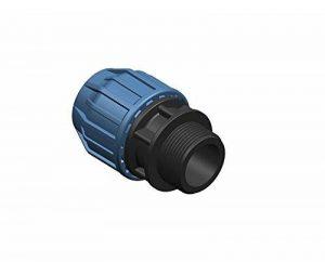'1PP connecteur de serrage Fittings Adaptateur 40mm sur 11/4filetage mâle Raccord de tuyau pour tube PE Eau Potable DVGW PN16 de la marque 1000Liter image 0 produit
