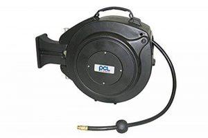 '1tuyau Enrouleur avec tuyau pour air comprimé de la marque PVC PCL 15m/chariot Dévidoir/Tambour/Tuyau/fabriqué en Angleterre/Air Comprimé/outil/Raccord pneumatique 1/4/Appareil/17bar/Enrouleur automatique/pneumatique/table/Air Comprimé Pneumatique/ate image 0 produit