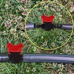 10 PCs Robinet de Jardin en Plastique PE Tuyau Valve Irrigation Pipe Valve Switch Arrosage Fournitures de Jardin 16mm x 13mm de la marque Gosear image 3 produit