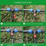 10 PCs Robinet de Jardin en Plastique PE Tuyau Valve Irrigation Pipe Valve Switch Arrosage Fournitures de Jardin 16mm x 13mm de la marque Gosear image 4 produit