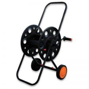 """100 M 1/2 """"- chariot dévidoir enrouleur de tuyau d'arrosage en métal, gartenschlauchwagen de la marque Garten image 0 produit"""