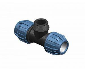 1000Liter '1PP serrage Fittings avec filetage extérieur 25mm, 1, 25mm Raccord de tuyau T Raccord pour tube PE Eau Potable DVGW PN16 de la marque 1000Liter image 0 produit