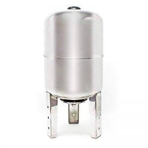 100L INOX Réservoir pression à vessie pour la surpression domestique cuve ballon, suppresseur pompe de la marque WilTec image 0 produit