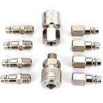 10x raccord coupleur rapide compresseur pneumatique pompe systeme Forme Europeen de la marque Hamimelon image 2 produit