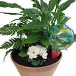 2Mini Plantpal décoratifs en verre d'arrosage globes, Plante d'arrosage Pointes, Aqua Pointes, système d'irrigation d'arrosage automatique de plante, vacances qui fonctionne vraiment. Idéal pour plantes d'intérieur. Utilisez en p image 1 produit