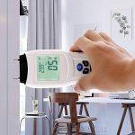【2018 NOUVELLE VERSION】 VFclar Humidimètre Numérique pour Bois ou Divers Matériaux, Détecteur d'Humidité avec Affichage LCD, Testeur Humidité et Température de la marque VFclar image 4 produit