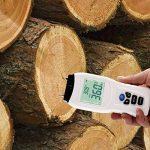 【2018 NOUVELLE VERSION】 VFclar Humidimètre Numérique pour Bois ou Divers Matériaux, Détecteur d'Humidité avec Affichage LCD, Testeur Humidité et Température de la marque VFclar image 3 produit