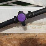 3x micro Jardin d'irrigation Inline/Robinet d'arrosage pour tuyau 13mm Violet Noir de la marque Antelco image 4 produit
