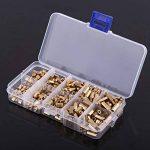 300pcs M3 Ecrou Vis Entretoise Fileté Mâle Femelle Hexagonale Boulon Laiton Assortiment de la marque image 4 produit