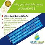 4x AquaHouse UIFL Filtre d'eau Réfrigérateur compatible LG 5231JA2010B BL9808 3890JC2990A 3650JD8050A Filtre de réfrigérateur externe de la marque AquaHouse image 3 produit