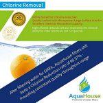 4x AquaHouse UIFL Filtre d'eau Réfrigérateur compatible LG 5231JA2010B BL9808 3890JC2990A 3650JD8050A Filtre de réfrigérateur externe de la marque AquaHouse image 4 produit
