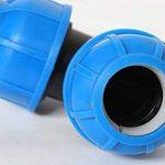5pcs/sac plastique pour appareil d'irrigation agricole Coude Paysage d'eau d'irrigation raccords ^ de la marque hpal-garden-water image 3 produit