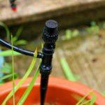 50 PCS réglable Micro débit goutteur d'arrosage Irrigation Kits système d'auto Jardin des plantes de tuyau d'irrigation Brumisation Noir de la marque Twshiny image 4 produit