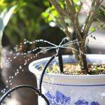 50 PCS réglable Micro débit goutteur d'arrosage Irrigation Kits système d'auto Jardin des plantes de tuyau d'irrigation Brumisation Noir de la marque Twshiny image 3 produit