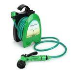 9,8m Portable Mini Eau Enrouleur de tuyau d'arrosage de jardin de voiture à laver Tuyau kit de support de stockage ^. de la marque hpbg-garden-water image 4 produit