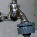 """Adaptateur 5pièces Compatible Gardena pour robinet douche lavabo cuisine garage avec filetage interne M22x1 filetage externe M24x1 filetage total 1"""" 3/4"""" 1/2"""" de la marque Water4all adapter indoor image 3 produit"""
