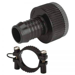 Adaptateur GARDENA: nez de robinet, accessoires pour tuyauterie GARDENA et systèmes d'arroseurs, pour raccord de tuyau résistant à la pression, collier de serrage pour la fixation du tuyau (1513-20) de la marque Gardena image 0 produit