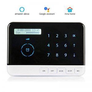 Albohes contrôleur intelligent d'arrosage contrôleur intelligent de gicleur, contrôleur intelligent de valve et gicleurs, connexion de WIFI avec 9 zones, à distance de temps et à distance d'accès, temporisateur, compatible l'assistant de Google de la marq image 0 produit