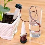 Amison Lot de 10Système d'irrigation Distributeur d'eau automatique pour plantes d'arrosage vacances compte-gouttes Arrosoir Distributeur d'eau de la marque Amison image 2 produit
