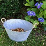 antikas–Baignoire en zinc–Romantique pour lavage en zinc–Baignoire F. agriculteurs jardin de la marque Antikas image 1 produit