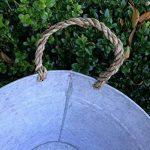 antikas–Baignoire en zinc–Romantique pour lavage en zinc–Baignoire F. agriculteurs jardin de la marque Antikas image 2 produit