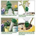 Aolvo 4er Automatique plante de vacances d'irrigation d'eau distributeur cône en céramique tête plante verseur goutte à goutte d'irrigation pour jardin, plante d'intérieur, fleurs de la marque Aolvo image 4 produit