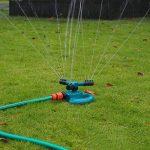 Aolvo Jardin Gazon Arroseur Rotatif à 360° Automatique d'arrosage Arroseur avec 3Bras de L'eau d'irrigation, Facile Tuyau Connexion de la marque Aolvo image 2 produit