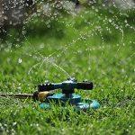 Aolvo Jardin Gazon Arroseur Rotatif à 360° Automatique d'arrosage Arroseur avec 3Bras de L'eau d'irrigation, Facile Tuyau Connexion de la marque Aolvo image 3 produit