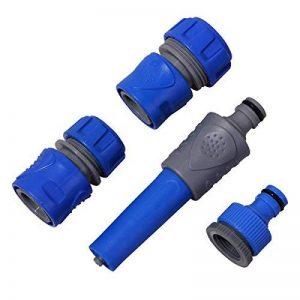 Aqualin Lance d'arrosage et Nettoyage Lance à Jet Réglable, Pistolet Arrosoir Kit Arrosage au Jardin de la marque Aqualin image 0 produit