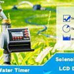 Aqualin Programmateur d'Arrosage Minuterie Eau Contrôleur d'Irrigation pour Jardin,Electrovanne de la marque Aqualin image 1 produit