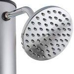 Arebos Douche Solaire 37 l / 198 cm / Température de l'eau réglable / Pommeau de douche réglable de la marque Arebos image 1 produit