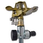 Arroseur à impulsion sur piquet zinc métal 2 pièces de la marque vidaXL image 2 produit