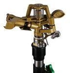 Arroseur irrigateur réglable verger eau arrosage trépied télescopique pliable 24m max de la marque Deuba image 2 produit
