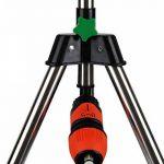 Arroseur irrigateur réglable verger eau arrosage trépied télescopique pliable 24m max de la marque Deuba image 4 produit