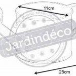 Arrosoir 75cl en Zinc de la marque AUBRY GASPARD image 1 produit
