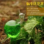 Arrosoir Automatique Forme Escargot en Verre Dispositif d'Arrosage Pour Fleurs Jardin de la marque MagiDeal image 3 produit