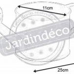 arrosoir en zinc déco TOP 3 image 1 produit