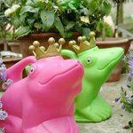 Arrosoir rose en forme de grenouille • Mignonne à croquer ! de la marque MIK funshopping image 1 produit