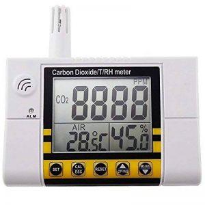 AZ Instruments dioxyde de carbone température du détecteur d'humidité de l'Air intérieur CO2 contrôle de qualité de la marque Gain Express image 0 produit