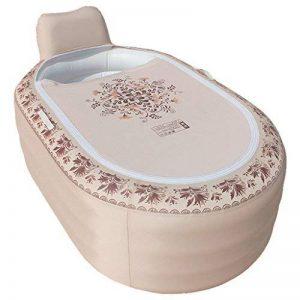 Baignoire gonflable WEBO HOME- Ménage européenne style adulte baignoire pliante en plastique bain bassin (165 * 105 * 77cm) de la marque Baignoire gonflable image 0 produit