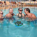 BassPal Radios de Douche, Haut-Parleur Bluetooth IPX7 portable entièrement étanche à l'eau avec, super basse et son HD, Haut-Parleur parfait pour plage, piscine, cuisine et maison de la marque image 5 produit