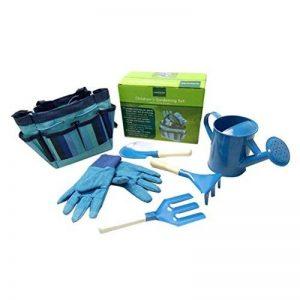 bestomz Jardin Kit d'outils de jardin avec des gants et sac à outils de jardin, jardin, cadeaux, le jardinage Outils Accessoires en acier inoxydable de la marque BESTOMZ image 0 produit