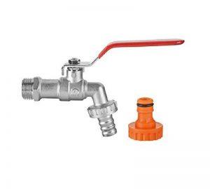 BFG 1/2Bavoir robinet de jardin d'eau à levier type de vanne Poignée Rouge Hazelock Connexion de la marque BFG image 0 produit