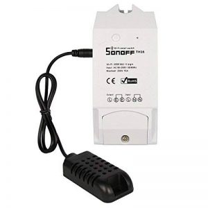 Boboleo TH10 / TH16 Surveillance de la température et de l'humidité WiFi Smart Switch pour bricolage Smart travail à domicile avec Amazon Alexa de la marque Boboleo image 0 produit