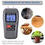 Bois l'humidité Mètre, Dikaou Bois humidité détecteur de testeur avec écran digital LCD, bois de chauffage humidité appareil de mesure, bois hygromètre de haute précision de la marque DiKaou image 1 produit